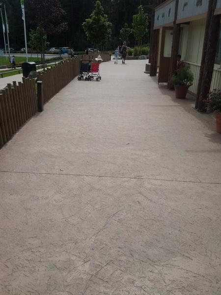 stämplad betong pris